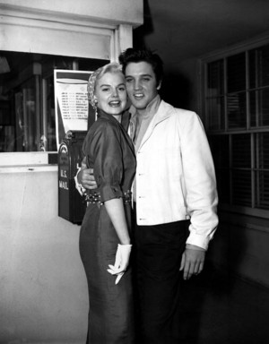 Elvis And Barbara Lang