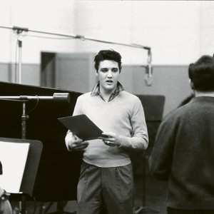 Elvis Presley In The Recording Studio