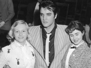 Elvis With His Fans