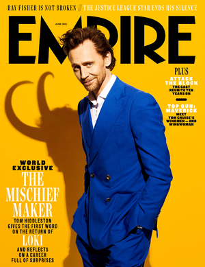 Empire's World-Exclusive Tom Hiddleston Covers (2021)