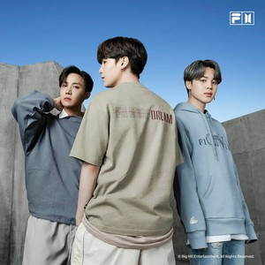 FILA KOREA X Bangtan Boys : NOW ON