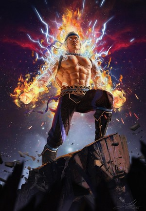 brand Lightning God Liu Kang