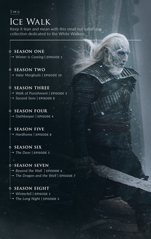 Game of Thrones Iron Anniversary MaraThrone: Ice Walk
