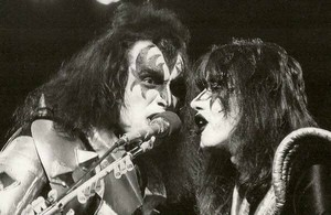 Gene and Ace ~Fukuoka, Japan...March 30, 1977 (Rock and Roll Over Tour)