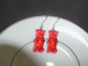 Gummy bär earrings