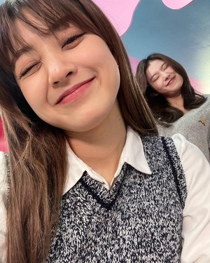 Jihyo and Sana