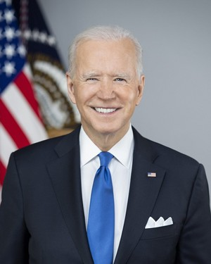 Joe Biden Official Presidential Portrait