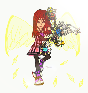 KH Fanart Kairi Princess of hart-, hart Badass Style Heaven (Useful) Strong Heart. Light.