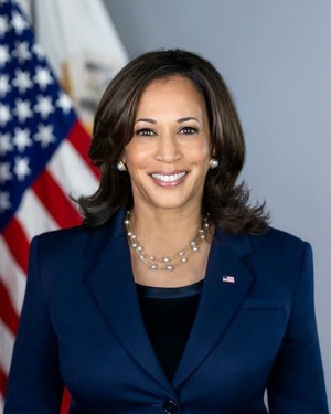 Kamala Harris Official Vice Presidential Portrait