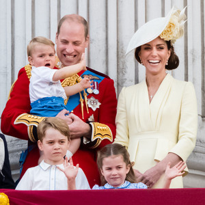 Kate and William and their kids