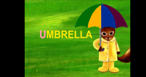 "Learn The ABCs: ""U"" Is For Umbrella"