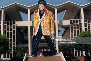 Life-Size Cutout Of Elvis Presley