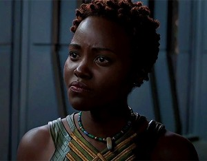 Lupita Nyong'o as Nakia in Black চিতাবাঘ (2018)