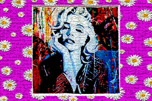 Marilyn Monroe (my art)