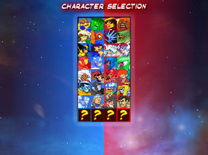 Marvel Tribute Game (Character Select)
