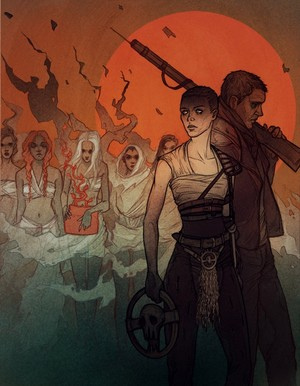 Max, Furiosa and the Wives