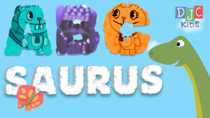 Meet The ABCSaurus Dïnosaur - An ABC Song And Vïdeo For Kïds!