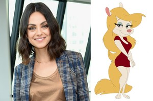 Mila Kunis as Minerva Mink 2021 (Animaniacs Reboot)