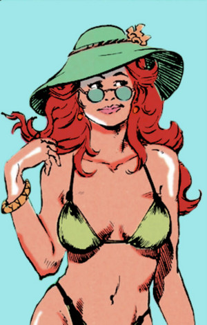 Poison Ivy's outfits in Suicide Squad Vol. 1