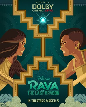 Raya and the Last Dragon AMC Theatres Poster