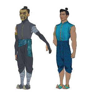 Raya and the Last Dragon - Benja Concept Art 의해 Ami Thompson