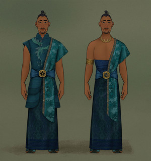 Raya and the Last Dragon - Benja Concept Art 의해 Neysa Bove