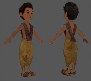 Raya and the Last Dragon - Boun Concept Art 의해 Paul Felix