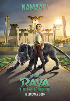 Raya and the Last Dragon Character Poster - Namaari