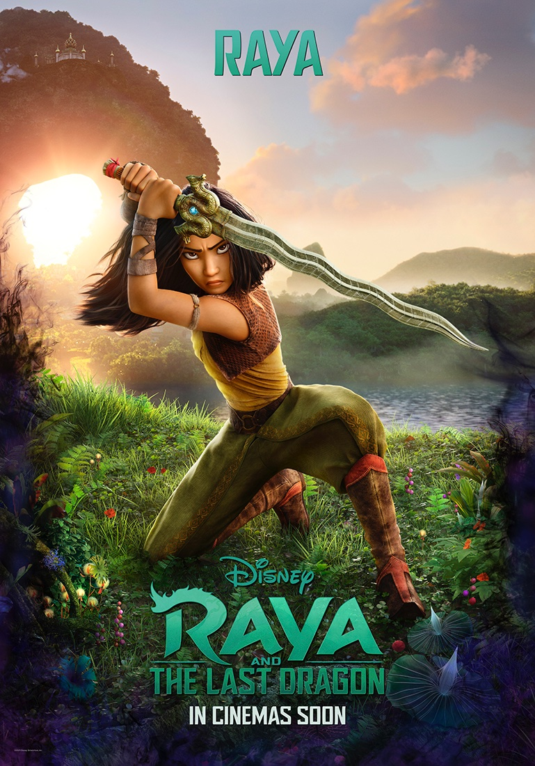 Raya and the Last Dragon Character Poster - Raya