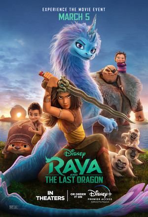 Raya and the Last Dragon New Poster