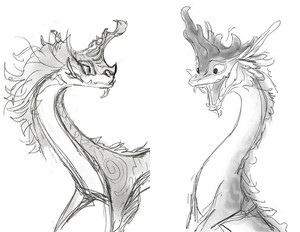 Raya and the Last Dragon - Sisu Concept Art দ্বারা Scott Watanabe