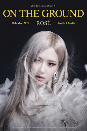 Rosé 'On The Ground' 제목 Poster