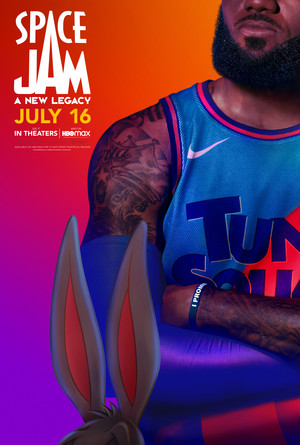 Space Jam: A New Legacy - Character Poster - Bugs and LeBron