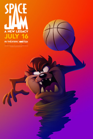 Space Jam: A New Legacy - Character Poster - Taz