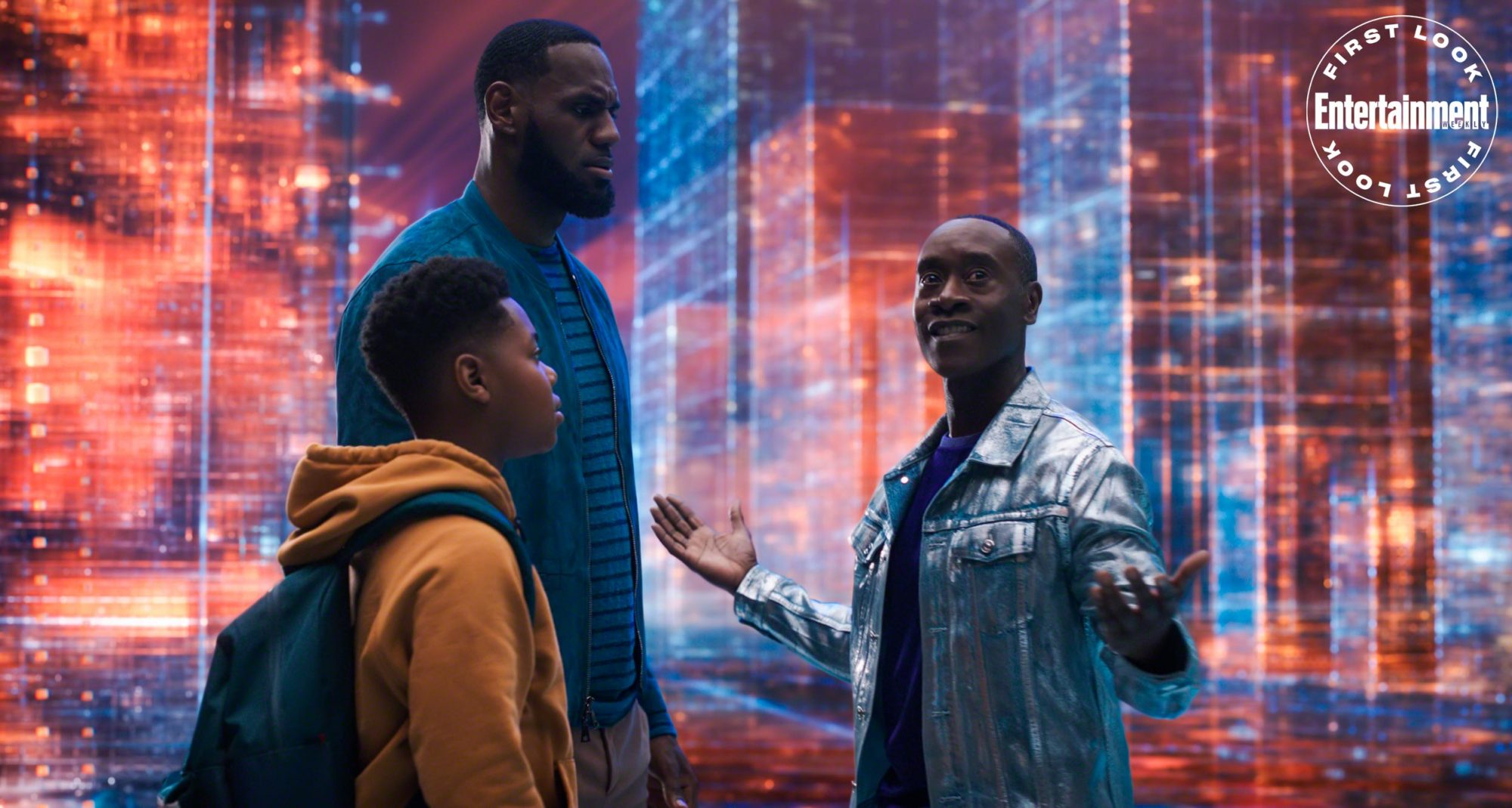 Space Jam: A New Legacy - First Look Photo - LeBron, Dom and Al G. Rhythm