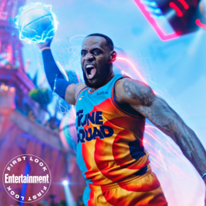o espaço Jam: A New Legacy - First Look fotografia - LeBron James