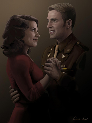 Steve/Peggy Fanart - What Shall Never Be
