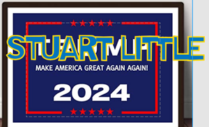 Stuart Little For President in 2024