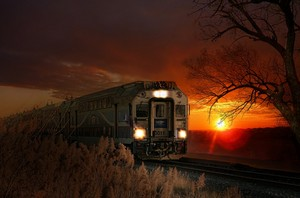 Sunset Train💎