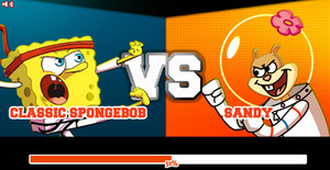 Super Brawl 2 (Classic SpongeBob VS. Sandy)