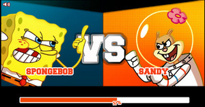 Super Brawl 2 (SpongeBob VS. Sandy)