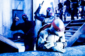 TEENAGE MUTANT NINJA TURTLES. 1990. Raphael. The Foot Clan.