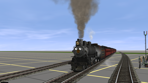 Tabby In Trainz