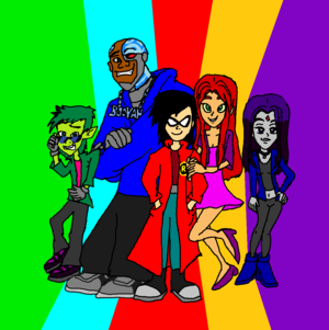 Teen Titans Fashions Style.