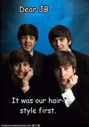The Beatles Did It First, Bieber!