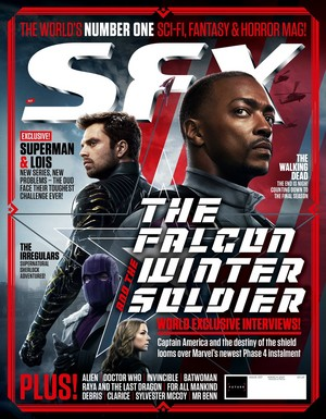 The Falcon and The Winter Soldier || SFX Magazine || Exclusive interviews and stills