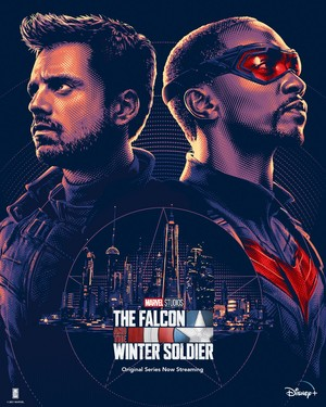 The palkon and the Winter Soldier || Promotional Poster