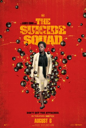 The Suicide Squad (2021) Character Poster - Amanda Waller