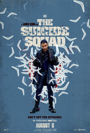 The Suicide Squad (2021) Character Poster - Captain Boomerang