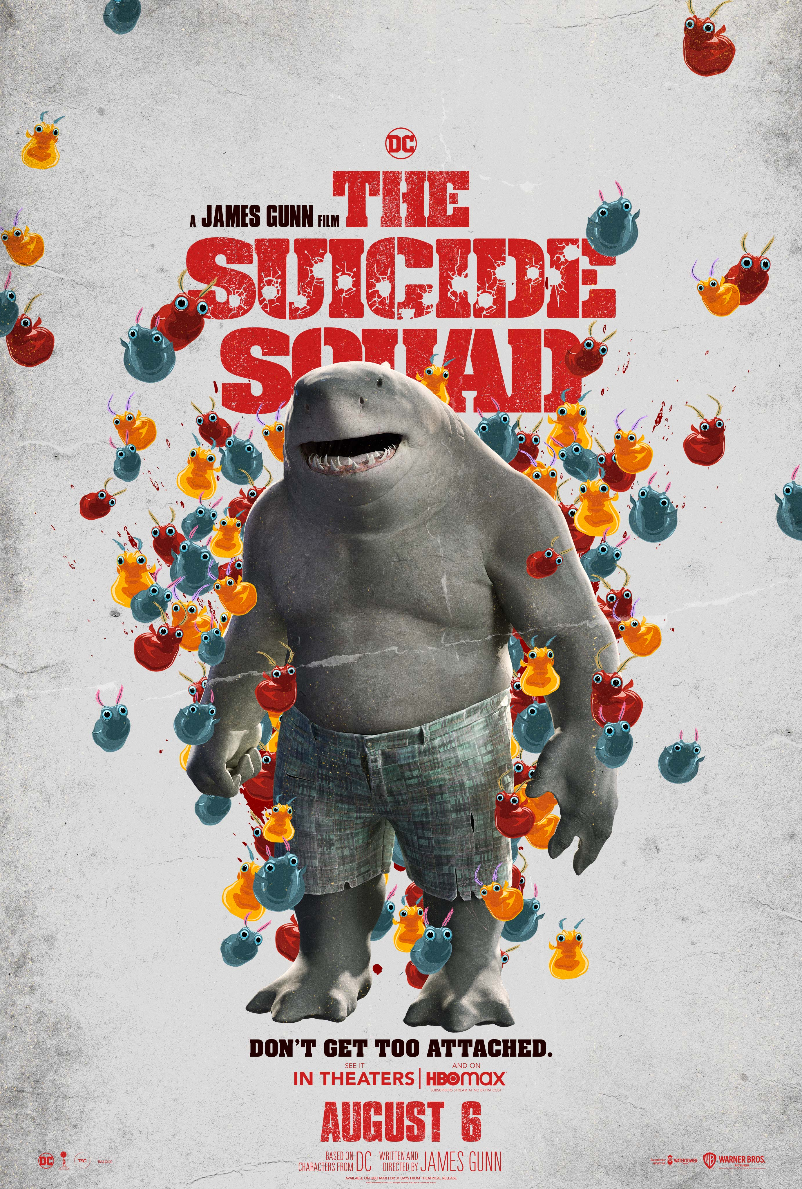The Suicide Squad (2021) Character Poster - King Shark